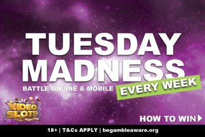 Videoslots Casino Tuesday Madness Battle Online & Mobile