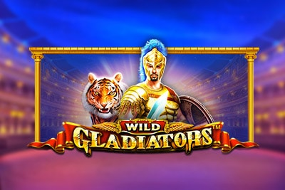 Wild Gladiators Mobile Slot Logo