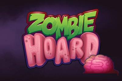 Zombie Hoard Mobile Slot Logo