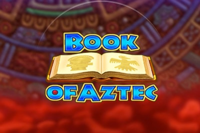 Book of Aztec Mobile Slot Logo