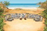 Books & Pearls Mobile Slot Logo