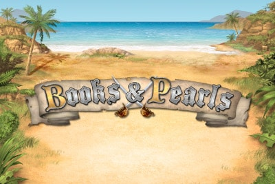 Books & Pearls Mobile Slot Logo
