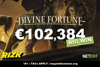 Finnish Slots Player Wins 100K Divine Fortune Jackpot