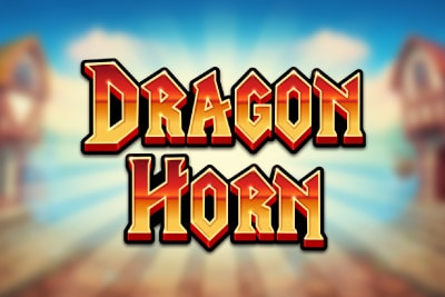 Dragon Horn Mobile Slot Logo
