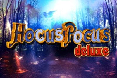 Hocus Pocus Deluxe Mobile Slot Logo
