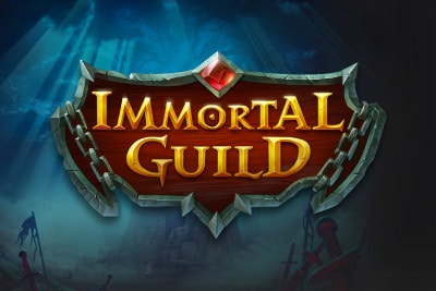 Immortal Guild Mobile Slot Logo