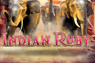 Indian Ruby Mobile Slot Logo