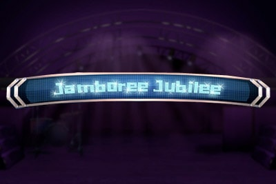 Jamboree Jubilee Mobile Slot Logo