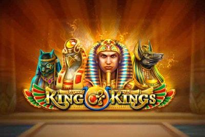 King of Kings Mobile Slot Logo