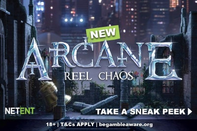 New Arcane Reel Chaos Mobile Slot Preview