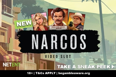 New NetEnt Narcos Mobile Slot Game Coming Soon