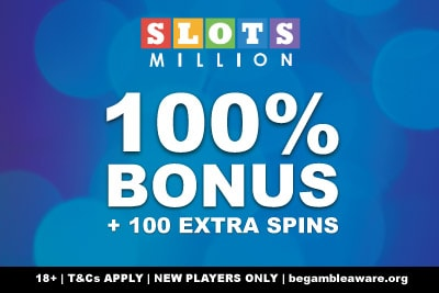 Your SlotsMillion Casino Bonus
