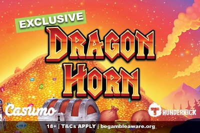 Thunderkick Dragon Horn Slot Exclusive At Casumo Casino