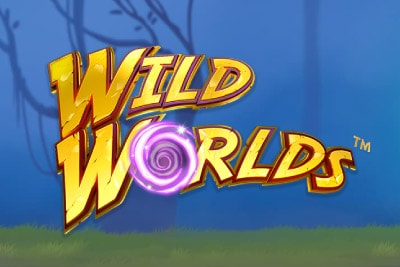Wild Worlds Mobile Slot Logo