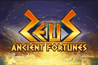 Zeus Ancient Fortunes Mobile Slot Logo