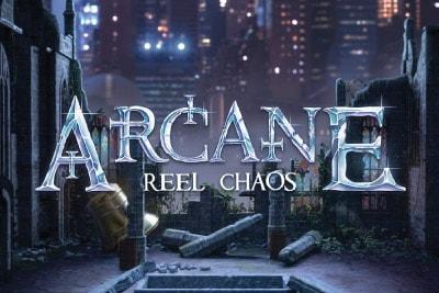 Arcane Reel Chaos Mobile Slot Logo