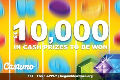 Spring Has Sprung At Casumo Casino With A €/£10K Cash Giveaway