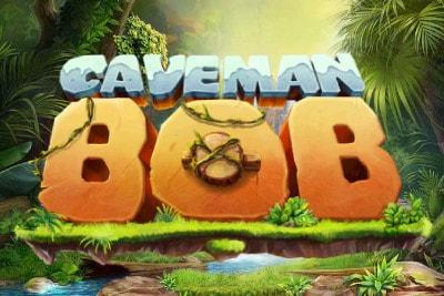 Caveman Bob Mobile Slot Logo