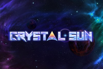 Crystal Sun Mobile Slot Logo