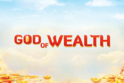 God Of Wealth Mobile Slot Logo