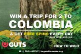 Get Casino Free Spins & Win A Trip To Colombia