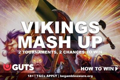 Guts Mobile Casino Vikings Mash Up Promotion