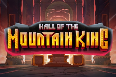 Hall of the Mountain King Mobile Slot Logo