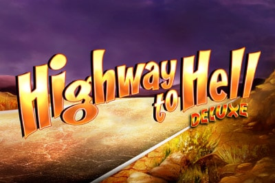 Highway To Hell Deluxe Mobile Slot Logo