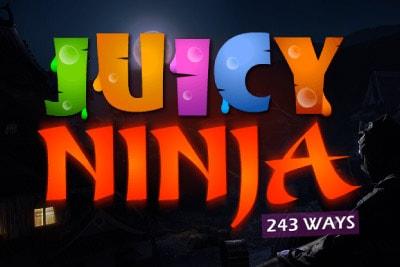 Juicy Ninja Mobile Slot Logo