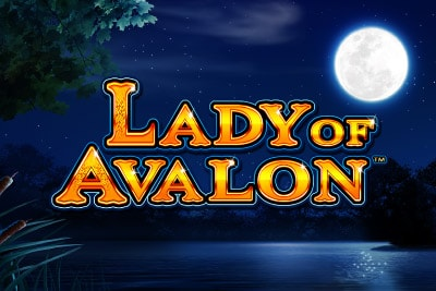 Lady of Avalon Mobile Slot Logo
