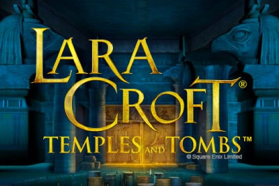 Lara Croft Temples and Tombs Mobile Slot Logo