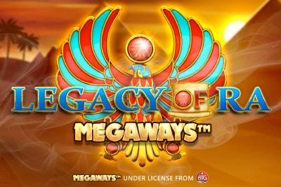 Legacy of Ra Megaways Mobile Slot Logo