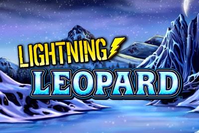 Lightning Leopard Mobile Slot Logo
