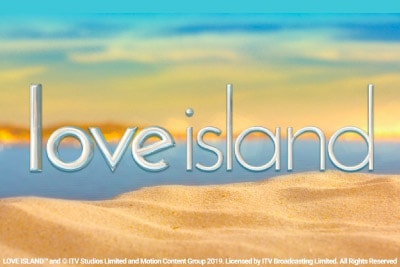 Love Island Mobile Slot Logo