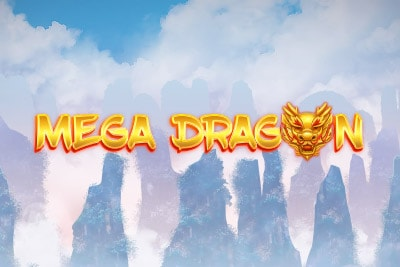 Mega Dragon Mobile Slot Logo