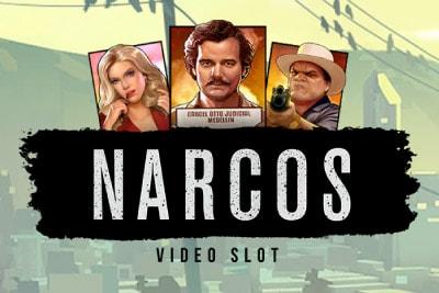 Narcos Mobile Slot Logo