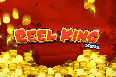 Reel King Mega Mobile Slot Logo