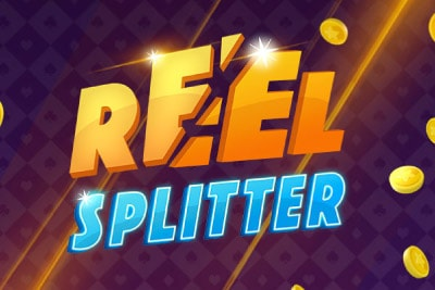 Reel Splitter Mobile Slot Logo