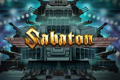 Sabaton Mobile Slot Logo