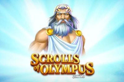 Scrolls of Olympus Quattro Slot Logo