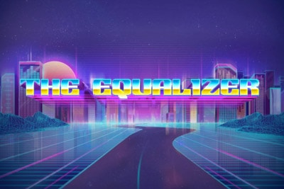 The Equalizer Mobile Slot Logo
