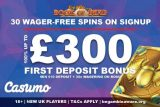 UK Casumo Casino Bonus