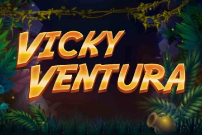Vicky Ventura Mobile Slot Logo
