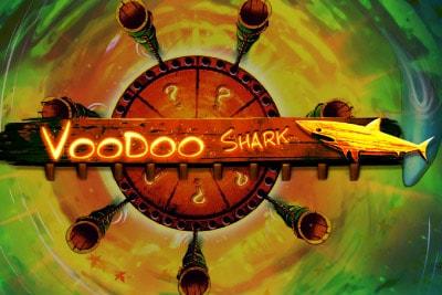 Voodoo Shark Mobile Slot Logo