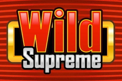 Wild Supreme Mobile Slot Logo