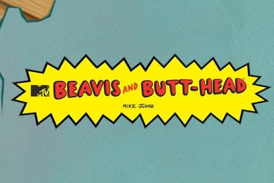 Beavis & Butt-Head Slot Logo