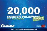 Casumo Mobile Casino Summer Prizewave Promo
