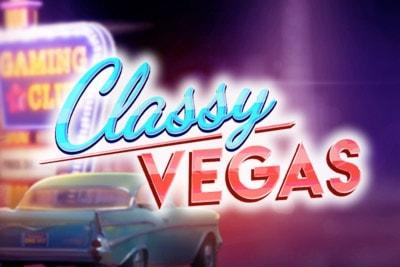 Classy Vegas Mobile Slot Logo