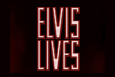 Elvis Lives Mobile Slot Logo