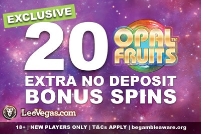 Exclusive UK and Ireland LeoVegas Casino Bonus